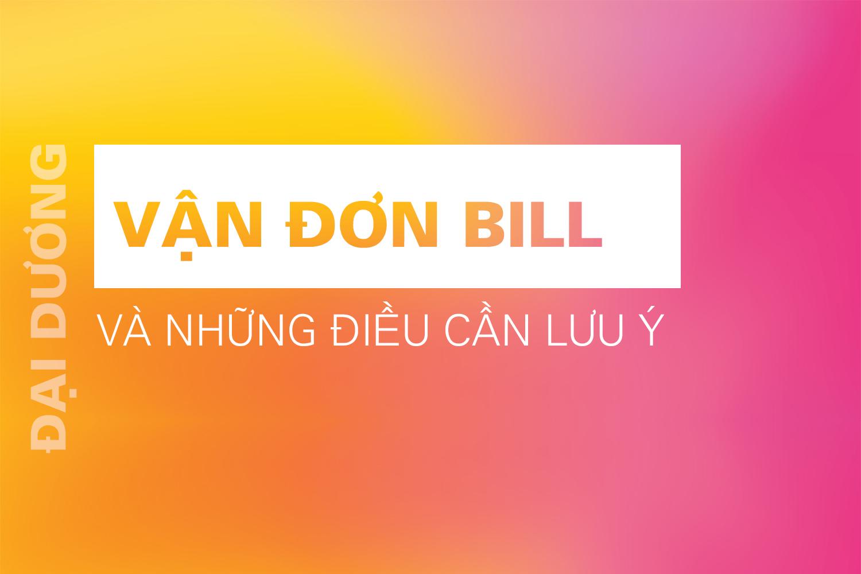 vận đơn bill