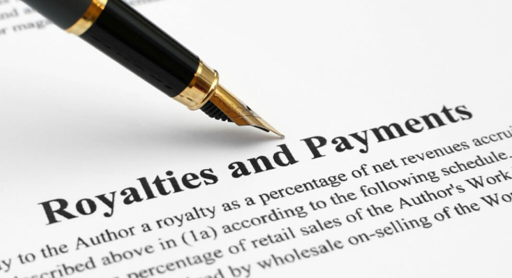 royalties and payment