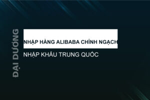 Nhập hàng Alibaba chính ngạch - Đại Dương